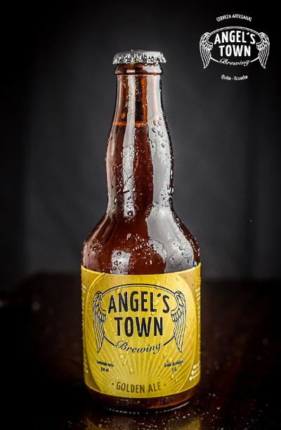 "Cerveza Artesanal British Golden Ale ""La Juerga"""
